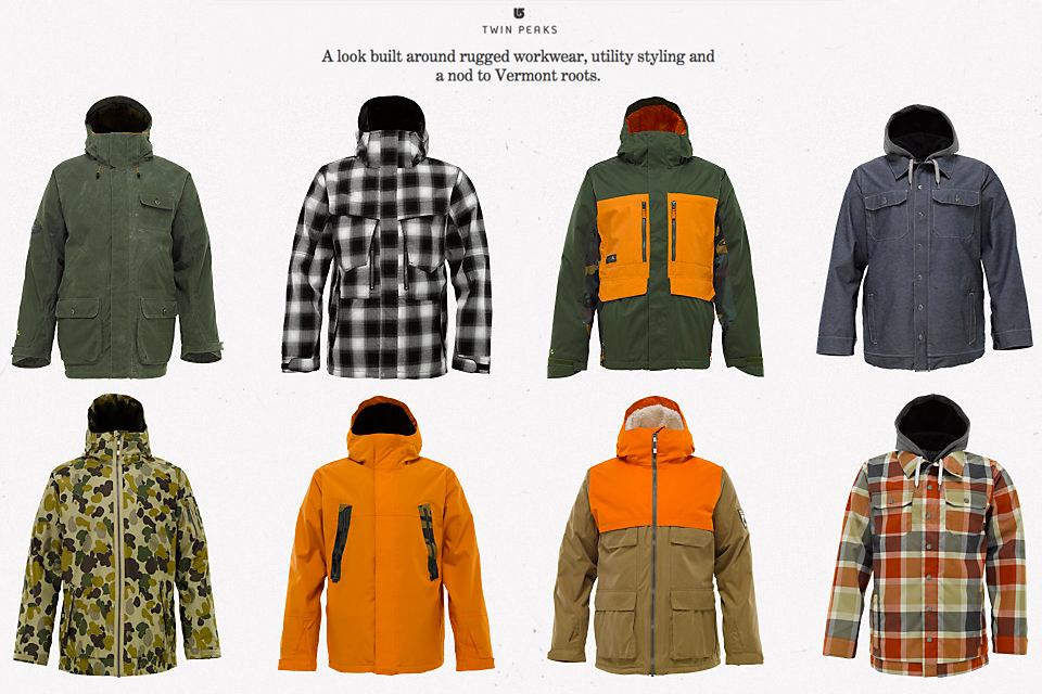 2 Twin Peaks Jackets