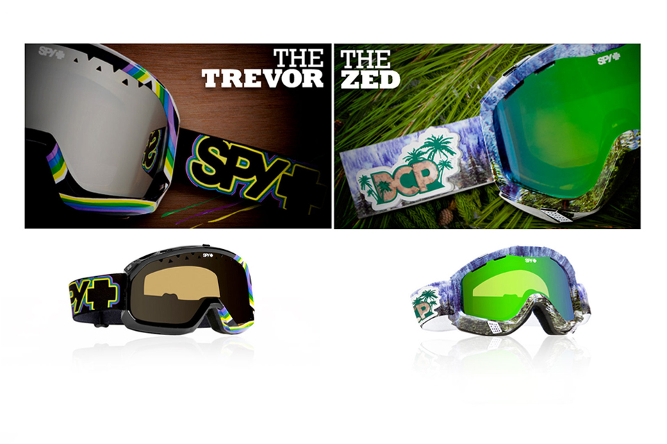 SPY GOGGLE MAGE DESIGN THE TREVOR THE ZED