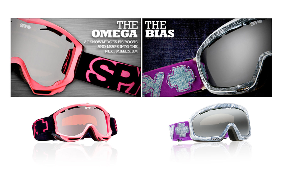 SPY GOGGLE MAGE DESIGN THE OMEGA THE BIAS