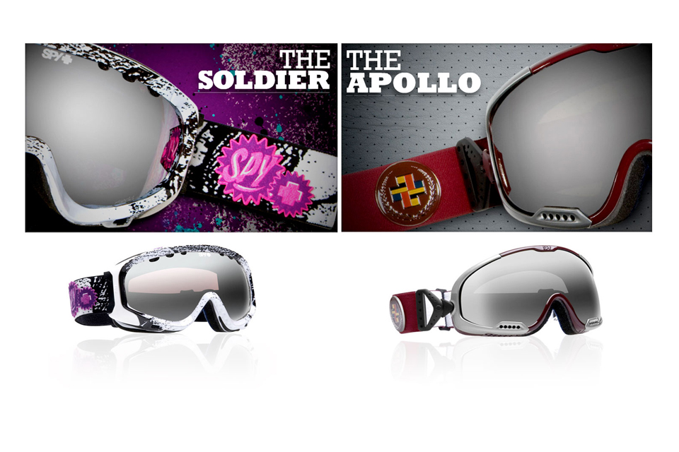 SPY GOGGLE MAGE DESIGN THE SOLDIER THE APOLLO