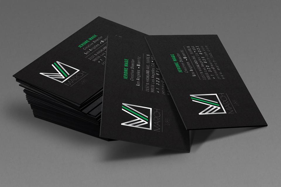 MarchLabBusinessCards