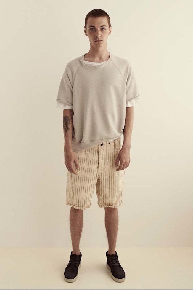 Rag-Bone-Spring-2015-Lookbook-Pinstripe-Shorts