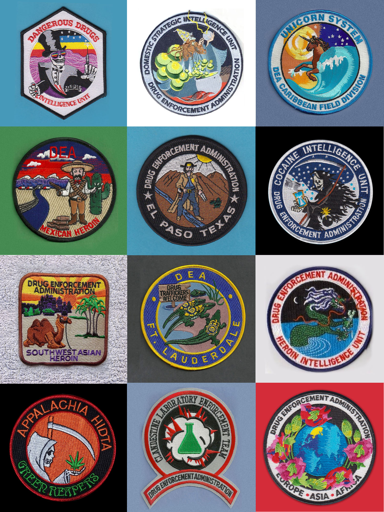 dea patches