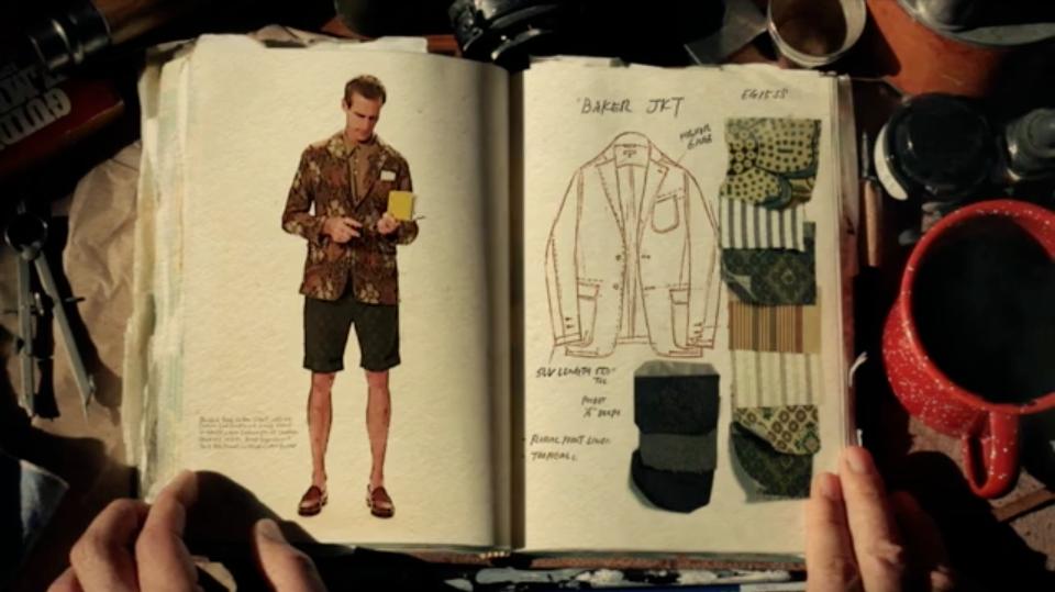 engineered garments s/s 2015 look book
