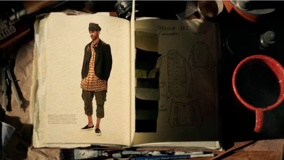 engineered garments s/s 2015 look book