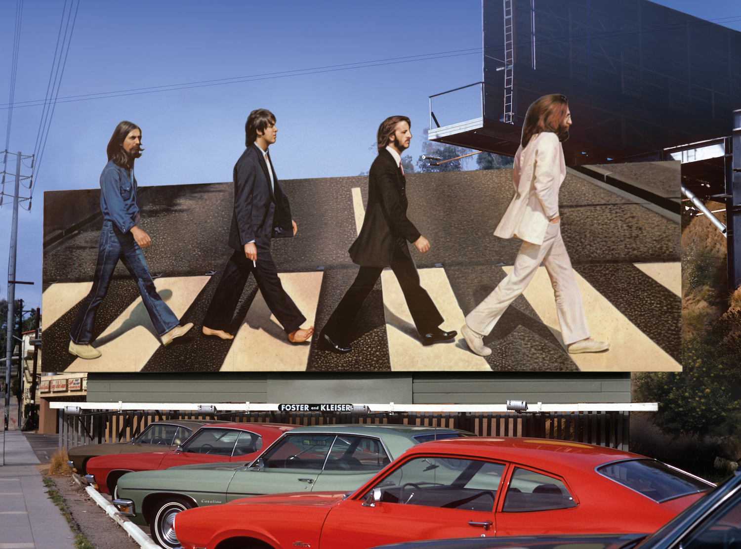 Beatles Abbey Road Billboard