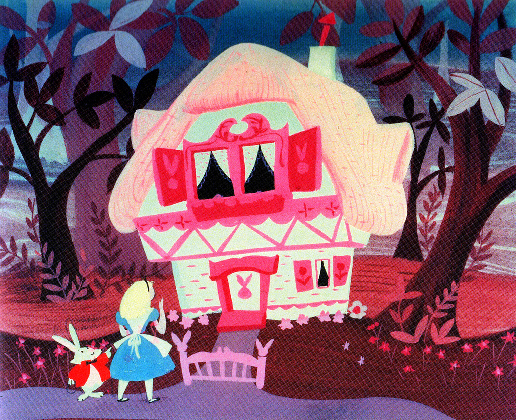 Concept Art for Alice in Wonderland