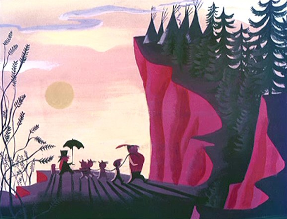 Concept art for Peter Pan